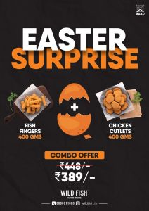 Combo offer Fish Fingers+ Chicken Cutlets